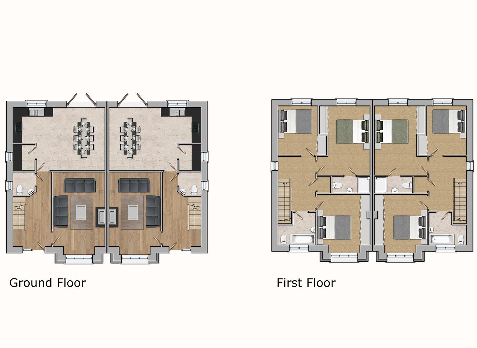 Type C House Plans