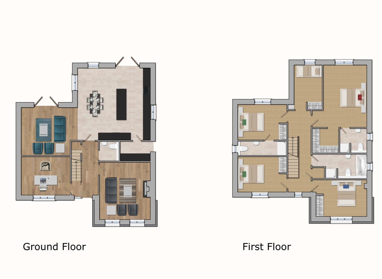Type E House Plans
